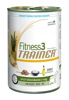 Trainer Fitness 3 Adult Medium/Maxi Duck&Rice Консервы для собак средних и крупных пород Утка/рис